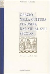 Orazio nella cultura venosina dal XIII al XVII secolo