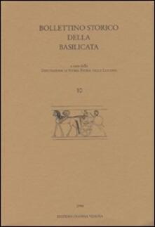 Lpgcsostenible.es Bollettino storico della Basilicata. Vol. 10 Image