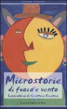 Microstorie di fuoco e vento. Laboratorio di scrittura creativa - copertina