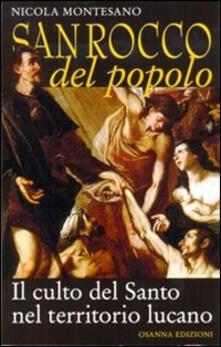 San Rocco del popolo. Il culto del santo nel territorio lucano - Nicola Montesano - copertina