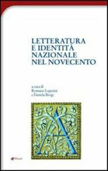 Letteratura e identità nazionale del Novecento - copertina
