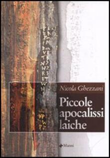 Piccole apocalissi laiche - Nicola Ghezzani - copertina