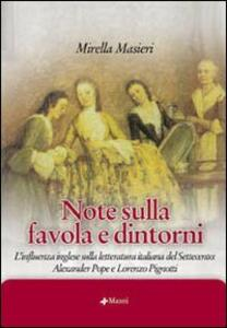 Note sulla favola e dintorni. L'influenza inglese sulla letteratura italiana del Settecento: Alexander Pope e Lorenzo Pignotti