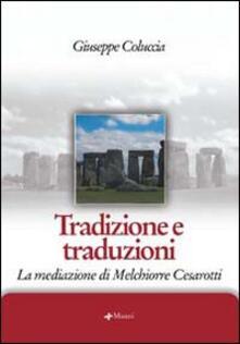 Daddyswing.es Tradizione e traduzioni. La mediazione di Melchiorre Cesarotti Image