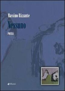 Nessuno - Massimo Rizzante - copertina
