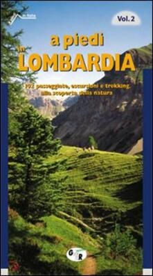 Amatigota.it A piedi in Lombardia. 102 passeggiate, escursioni e trekking alla scoperta della natura. Vol. 2 Image