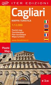 Cagliari. Pianta turistica. Ediz. multilingue