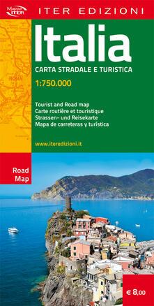 Voluntariadobaleares2014.es Italia. Carta stradale e turistica 1:750.000 Image