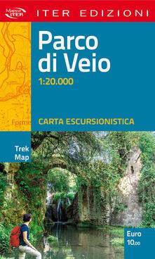 Listadelpopolo.it Parco di Veio. Carta escursionistica 1:20.000 Image