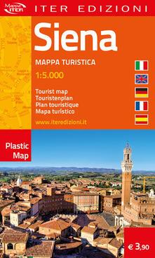 Siena. Mappa turistica 1:5.000. Ediz. multilingue - copertina