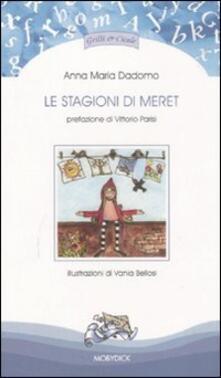 Le stagioni di Meret - Anna M. Dadomo - copertina