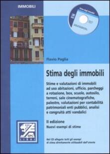 Stima degli immobili - Flavio Paglia - copertina