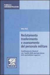 Reclutamento, trasferimento e avanzamento del personale militare