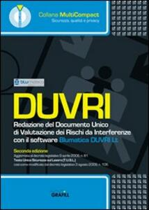 DUVRI. Redazione del documento unico di valutazione dei rischi da interferenze. Con Contenuto digitale per download e accesso on line