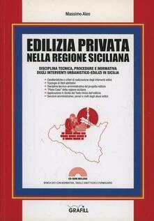 Atomicabionda-ilfilm.it Edilizia privata nella regione siciliana. Con Contenuto digitale per download e accesso on line Image