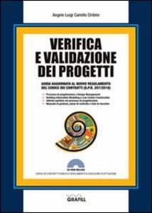 Verifica e validazione dei progetti. Con Contenuto digitale per download e accesso on line