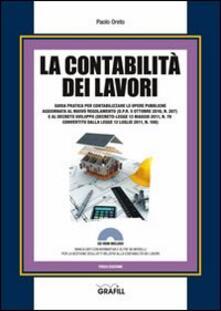 Secchiarapita.it La contabilità dei lavori. Con Contenuto digitale per download e accesso on line Image