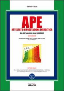 Letterarioprimopiano.it APE. Attestato di prestazione energetica dal sopralluogo alla redazione. Con Contenuto digitale per download e accesso on line Image