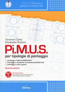 Pi.M.U.S. per tipologie di ponteggio. Con software - Vincenzo Calvo,Elisabetta Scalora - copertina