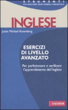 Letterarioprimopiano.it Inglese. Esercizi di livello avanzato Image