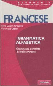 Francese. Grammatica alfabetica