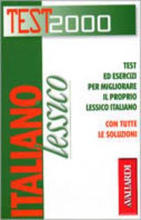 Italiano. Lessico