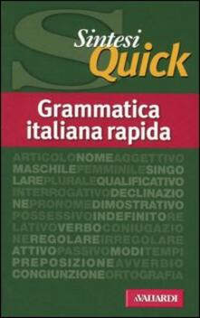 Winniearcher.com Grammatica italiana rapida Image