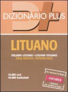 Dizionario lituano. Italiano-lituano, lituano-italiano