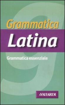 Radiospeed.it Grammatica latina Image