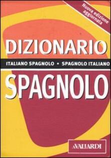 Associazionelabirinto.it Dizionario spagnolo. Italiano-spagnolo, spagnolo-italiano Image