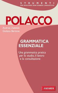 Parcoarenas.it Polacco. Grammatica essenziale Image