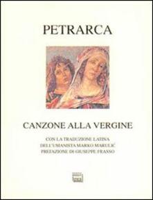 Camfeed.it Canzone alla Vergine. Testo latino a fronte Image
