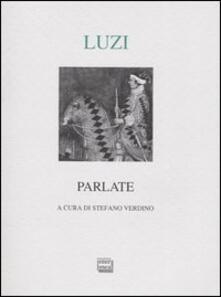 Parlate - Mario Luzi - copertina