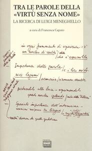 Tra le parole della «virtù senza nome». La ricerca di Luigi Meneghelle. Atti del Convegno internazionale di studi. (Malo, 26-28 giugno 2008)