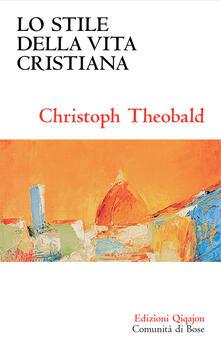 Lo stile della vita cristiana.pdf