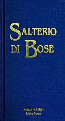 Warholgenova.it Salterio di Bose. Salmi e cantici biblici Image