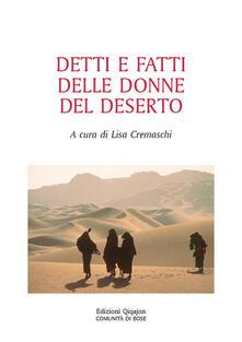 Birrafraitrulli.it Detti e fatti delle donne del deserto Image
