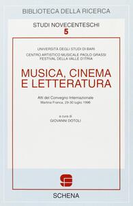 Musica, cinema e letteratura