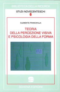 Teoria della percezione visiva e psicologia della forma