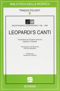 Leopardi's Canti