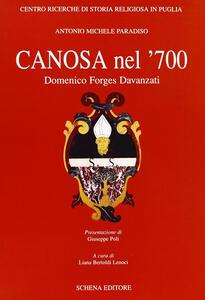 Canosa nel '700. Domenico Forges Davanzati