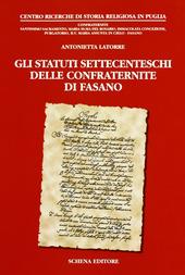 Gli statuti settecenteschi delle confraternite di Fasano