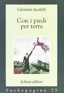 Con i piedi per terra - Giovanna Iacobelli - copertina