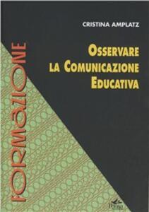 Osservare la comunicazione educativa