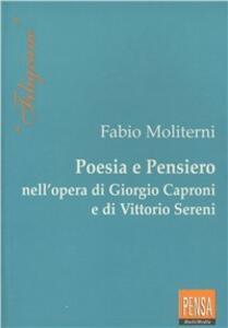 Poesia e pensiero nell'opera di Giorgio Caproni e Vittorio Sereni
