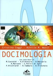 Docimologia - Cristina Coggi,Achille M. Notti - copertina