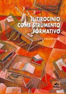 Il tirocinio come strumento formativo - Fabrizio Manuel Sirignano - copertina