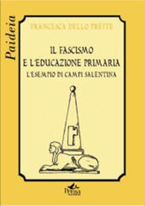 Il fascismo e l'educazione primaria. L'esempio di Campi Salentina