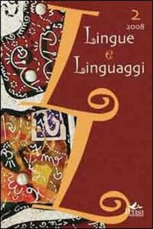 Lingue e linguaggi. Vol. 2 - copertina