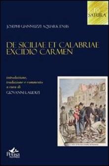 De Siciliae et Calabriae excidio carmen - Giuseppe Giannuzzi - copertina
